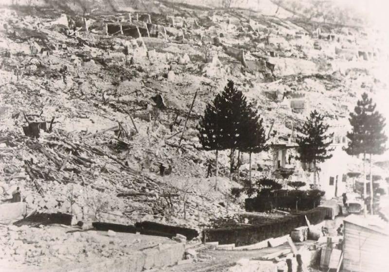 05 -gioia dei marsi rasa al suolo dopo il sisma del 1915