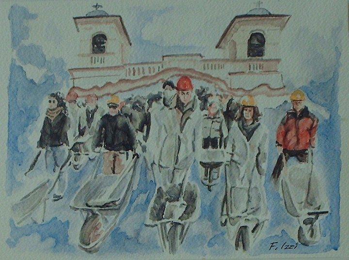 Il popolo delle carriole