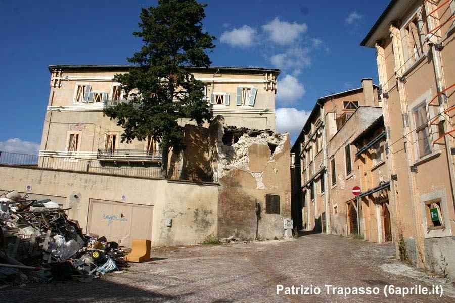 Centro Storico L'Aquila, 16 ottobre 2010