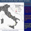 LA STORIA DEI TERREMOTI IN ITALIA (VIDEO)