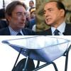L'Aquila: Berlusconi attacca le carriole e Cialente