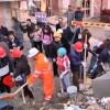 L'Aquila, 28 febbraio: carriole e partecipazione (video)