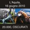 24 giugno 2010. L'Aquila a Roma, come i friulani nel '76