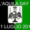 31 luglio: L'Aquila Day. Ovunque bandiere nero-verdi