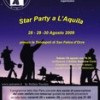 Star Party a L'Aquila (S.Felice d'Ocre), 28-30 agosto