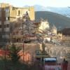L'Aquila: demolizioni in via Germania (foto)