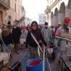 Le foto del ritorno delle carriole a L'Aquila