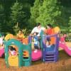L'Aquila, disponibili i parchi giochi al Castello e Villa Comunale