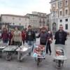 18 aprile: carriole e libri a L'Aquila
