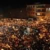 Video: la fiaccolata a L'Aquila a due anni dal terremoto