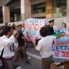 L'Aquila, striscioni contro Molinari, Letta e Cialente: disordini al corteo della Bolla