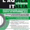 """20 novembre 2010, manifestazione nazionale """"L'Aquila chiama ITALIA"""""""