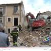 Video: la rimozione delle macerie nel centro di San Gregorio