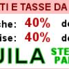 L'Aquila: dal 1 novembre si pagano le tasse