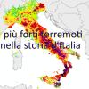 ECCO TUTTI I TERREMOTI PIÙ FORTI DI M.5,5 DELLA STORIA D'ITALIA