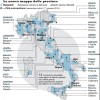 FOTO: PROVINCE, ECCO LA NUOVA MAPPA D&#8217;ITALIA