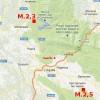 13.12.2012: TERREMOTI DI M.2,5 E M.2,3 NELL'AQUILANO
