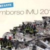 SILVIO VUOLE RIMBORSARLE L&#8217;IMU, MA LEI HA PERSO LA CASA NEL TERREMOTO