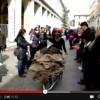 VIDEO: L'AQUILA, 3 ANNI FA LA GIORNATA DELLE CARRIOLE