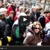 VIDEO: L'AQUILA, IL GIORNO DELLE CARRIOLE, INGRESSO IN ZONA ROSSA