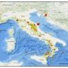 INGV: A LUGLIO IN ITALIA 2874 SCOSSE DI TERREMOTO