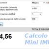 CALCOLA LA «MINI IMU» PER IL 2014