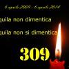TERREMOTO L'AQUILA, 5 ANNI DOPO: LE INFORMAZIONI PER LA FIACCOLATA COMMEMORATIVA