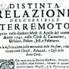 INGV – I TERREMOTI NELLA STORIA: 24 APRILE 1741