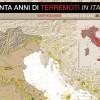 30 ANNI DI TERREMOTI IN ITALIA