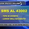 L'AQUILA, EPISODI DI SPACCIO E BULLISMO: ATTIVO NUMERO PER INVIARE SMS