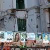 TERREMOTO L'AQUILA: SI ABBATTE CASA DELLO STUDENTE, CHIUSA VIA XX SETTEMBRE