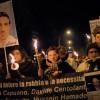 L'AQUILA, SIT-IN CONTRO L'ASSOLUZIONE DELLA COMMISSIONE GRANDI RISCHI