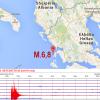 GRECIA, TERREMOTO Mw 6.5 AVVERTITO ANCHE IN ITALIA