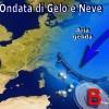 METEO: ITALIA IN PIENO INVERNO DAL 15 GENNAIO, GELO E NEVE PER 10 GIORNI