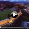 VIDEO: IN VOLO SULLE ANTICHE MURA DELL'AQUILA