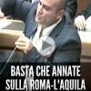 VIDEO: I RIFIUTI DEL LAZIO? «BASTA UNA DISCARICA VERSO LA ROMA-L'AQUILA»