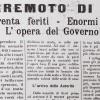 1916, IL TERREMOTO DI RIMINI: PERICOLOSITA' E RISCHIO 100 ANNI DOPO
