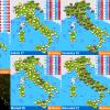 METEO: 7 GIORNI DI MALTEMPO QUASI IN TUTTA ITALIA