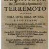 7 OTTOBRE 1639, TERRIBILE TERREMOTO AD AMATRICE: UN'INCREDIBILE TESTIMONIANZA DAL PASSATO