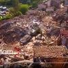 VIDEO: UN DRONE VOLA SU SALETTA DEVASTATA DAL TERREMOTO