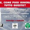 L'AQUILA, CONSIGLIO COMUNALE PATROCINIA EVENTO SU SCIE CHIMICHE: 'E TU, COME PUOI IGNORARE TUTTO QUESTO?'