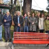 25 NOVEMBRE, GIORNATA CONTRO LA VIOLENZA SULLE DONNE: UNA PANCHINA ROSSA A L'AQUILA