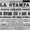 13 GENNAIO 1915, TERREMOTO AD AVEZZANO: 30MILA MORTI, FOTO E VIDEO