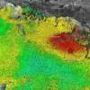 TERREMOTO: DALLE IMMAGINI SATELLITARI L'AREA DI CAMPOTOSTO (AQ) SI E' ABBASSATA DI 10 CM