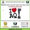 'I LOVE AQ': IL 25 APRILE LA SESTA EDIZIONE DEL TORNEO, INGRESSO GRATUITO
