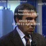 6 APRILE 2009, TERREMOTO PREVISTO?: IL VIDEO DI UN GRUPPO DI RICERCATORI INGV SU GIULIANI
