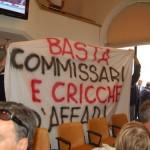Consiglio Regionale: continua la protesta contro la nomina di Cicchetti