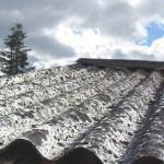 L'amianto: una tromba d'aria e non è più nocivo