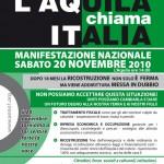Manifestazione 20 novembre – le adesioni e la mappa aggiornata