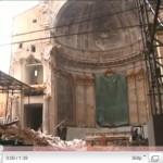 Video – Il Duomo dell'Aquila: immagini esclusive nella chiesa distrutta